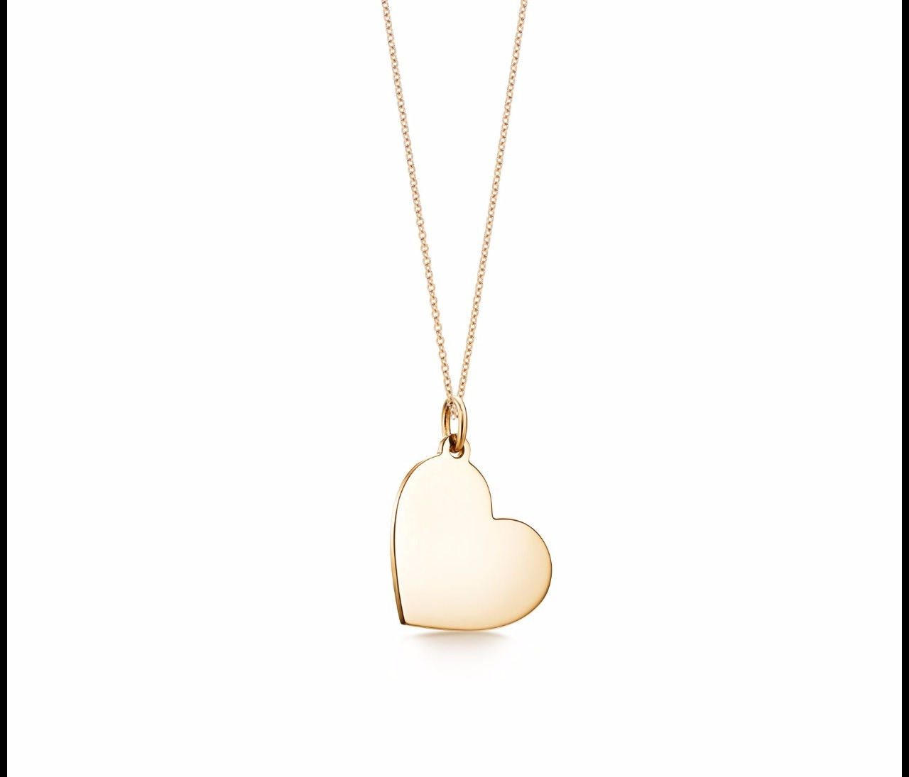 【Tiffany & Co】Heart Tag Pendant in 18k Gold
