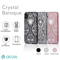 iPhone X 用 バッロク スワロフスキー/Crystal Baroque case