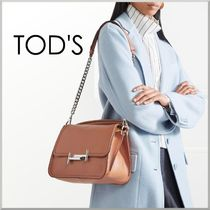 17-18AW★TOD'S ダブルT クロスボディバッグ スモール DOUBLE T