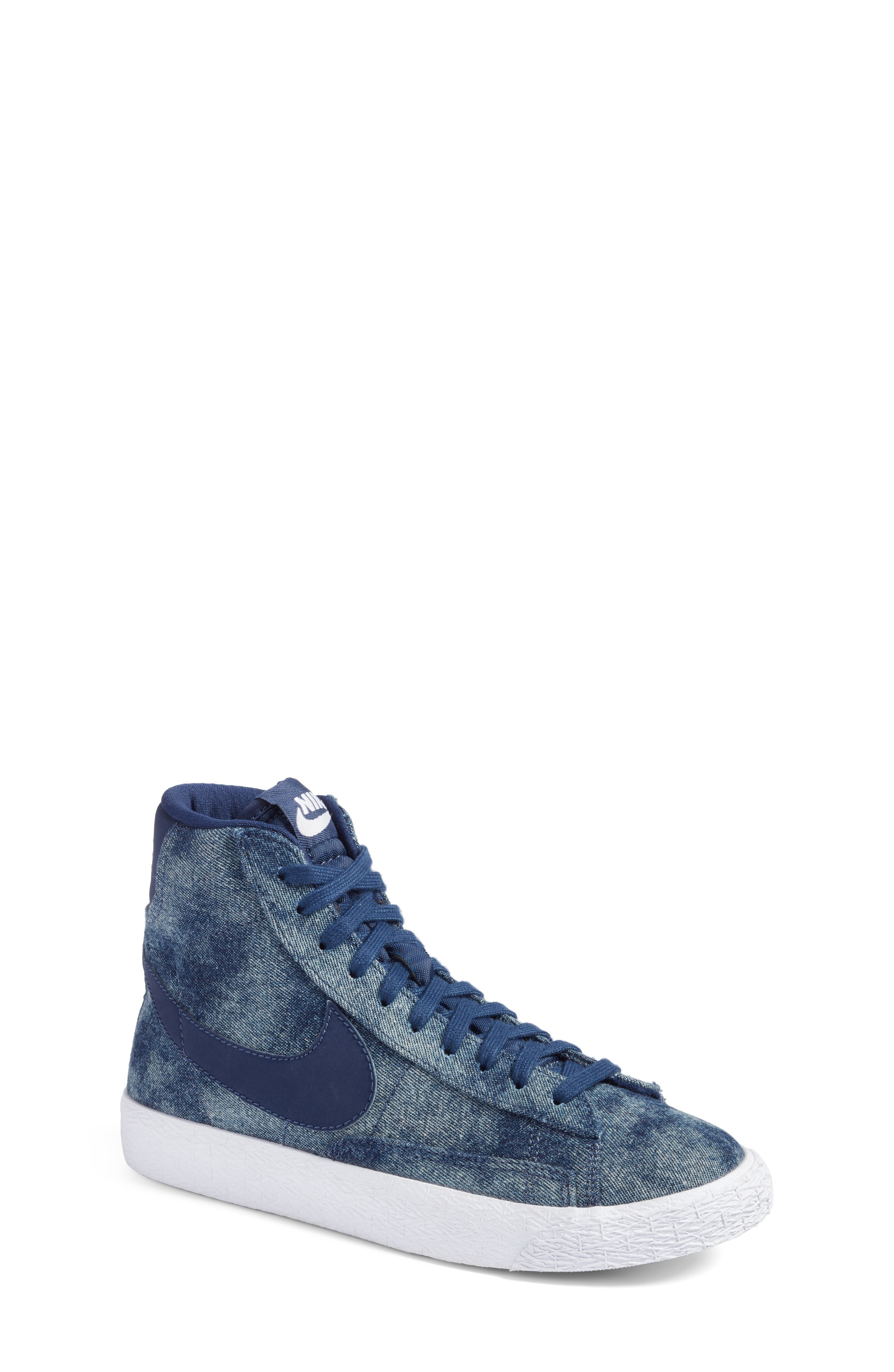 関税送料込みNike Blazer Mid SE High Top Sneaker (Big Ki 人気