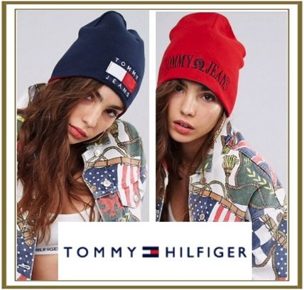 Tommy Jean 90s リバーシブルニットキャップ[送料関税込み]