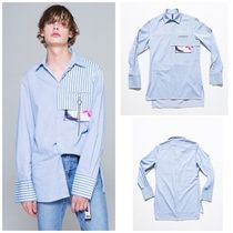 日本未入荷THE GREATESTのGT17FW01 STRIPE LONG SHIRTS
