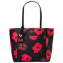 KATE SPADE HYDE LANE POPPIES SMALL RILEYトート PXRU8040 098