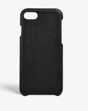THE CASE FACTORY★IPHONE 7/8 LIZARD BLACK