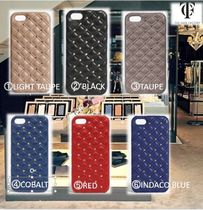 THE CASE FACTORY★IPHONE SE/5S/5 STUDS NAPPA 6色