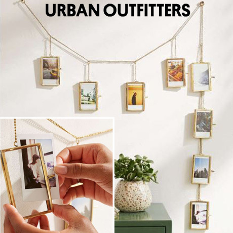 ☆Urban Outfitters フォトフレーム*チェーンバナー☆送関込