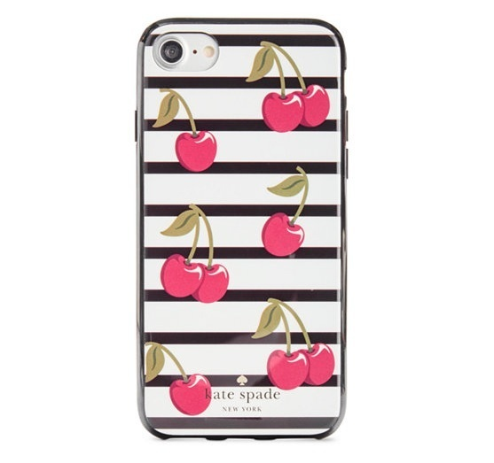 【Kate Spade】チェリー柄 iPhone 6/6S/7/8 ケース