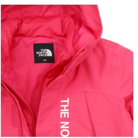 (ザノースフェイス) K'S AKRON JACKET HOT PINK NJ2YI50U