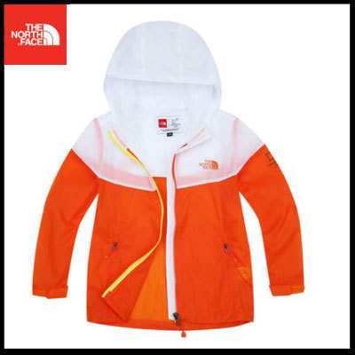 (ザノースフェイス) K'S COMPACT JACKET SUN ORANGE OKJ3LI10