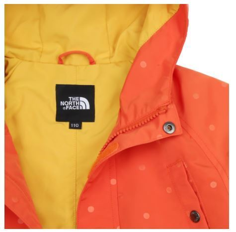 (ザノースフェイス) JG'S PORTEVER JACKET SUN ORANGE NJ3LI53S