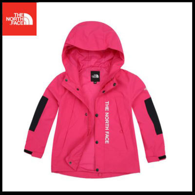 (ザノースフェイス) K'S FREE ALPHA JACKET Hot Pink NJ3ZI57T