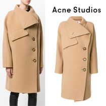 【17AW】大注目!!★ACNE STUDIOS★asymmetric coat
