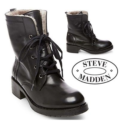 ★STEVE MADDEN★レースアップブーツ  PRIMARY★