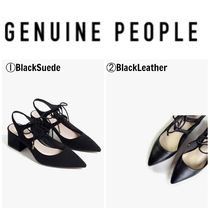 【GENUINE PEOPLE】●日本未入荷●Lace Up Pointed Sandals