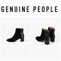 【GENUINE PEOPLE】●日本未入荷●Leather  Suede Short Boot