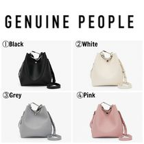 【GENUINE PEOPLE】●日本未入荷●Crossbody Bucket Bag