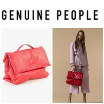 【GENUINE PEOPLE】●日本未入荷●Soft Leather Pillow Bag