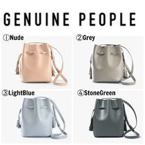 【GENUINE PEOPLE】●日本未入荷●Mini Leather Bucket Bag