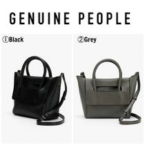 【GENUINE PEOPLE】●日本未入荷●Flap Leather Mini Bag
