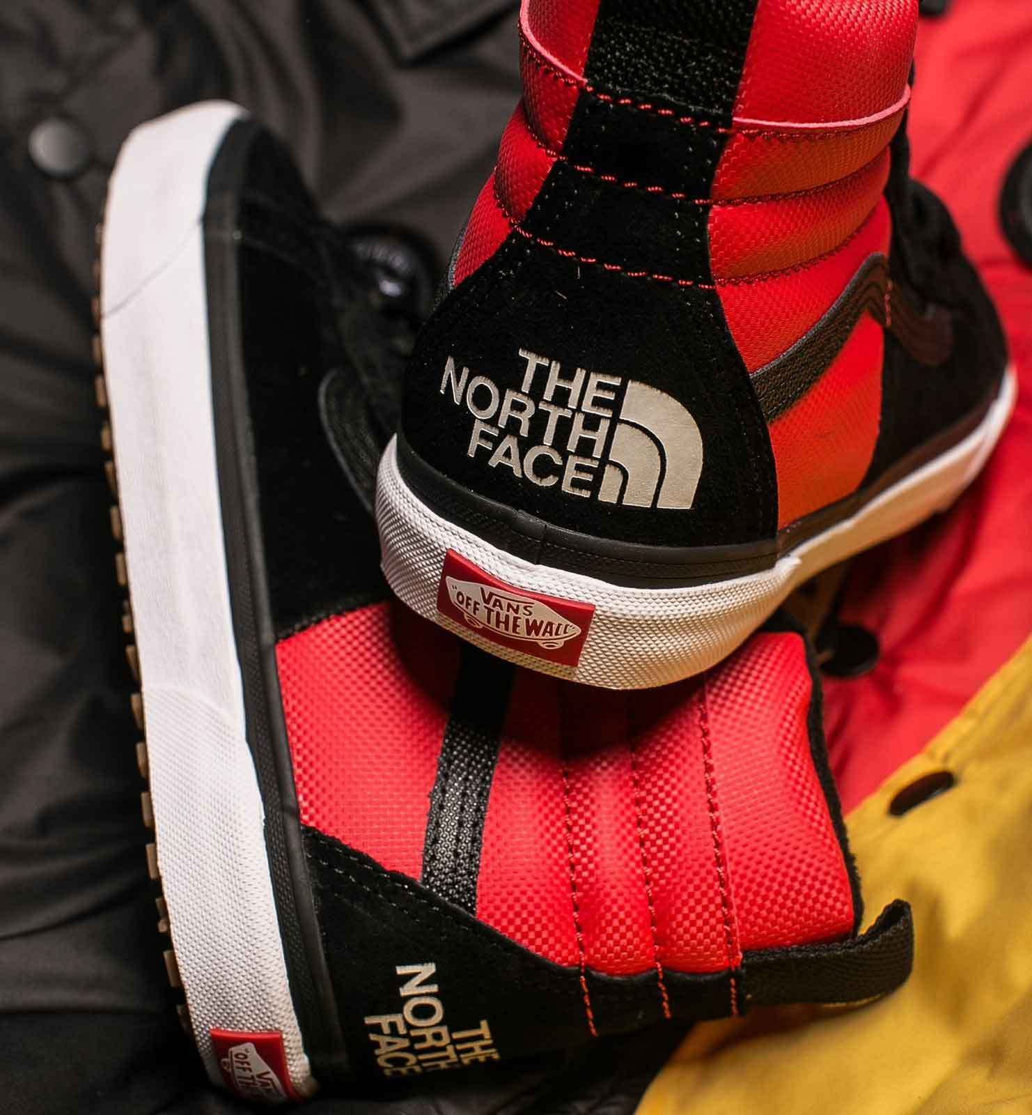 THE NORTH FACE X VANS UA SK8-HI 46 MTE DX レッド 待望コラボ