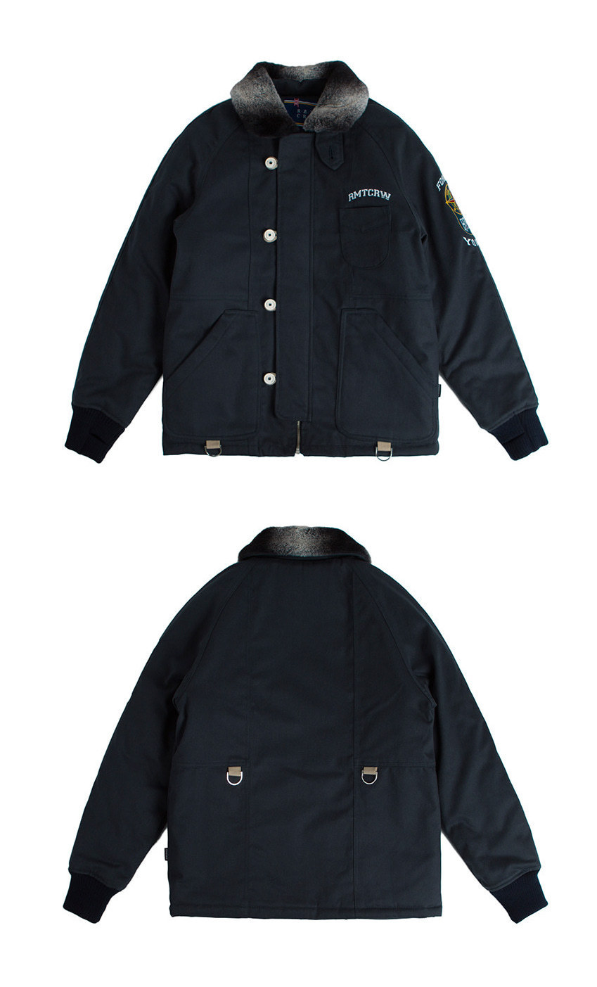 日本未発売 [ROMANTIC CROWN] Forever Young 6oz Deck Jacket