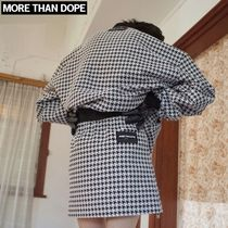 more than dope(モアザンドープ) ミニスカート ☆more than dope☆ Hound skirt