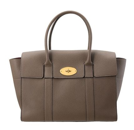 Mulberry ハンドバッグ 【関税負担】 MULBERRY BAYSWATER BAG CLAY