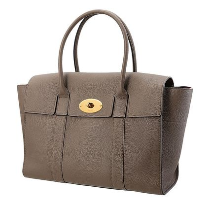 Mulberry ハンドバッグ 【関税負担】 MULBERRY BAYSWATER BAG CLAY(2)