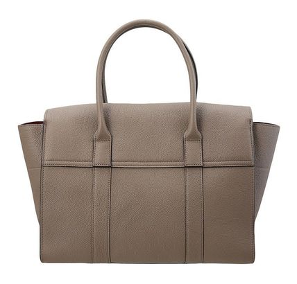 Mulberry ハンドバッグ 【関税負担】 MULBERRY BAYSWATER BAG CLAY(4)