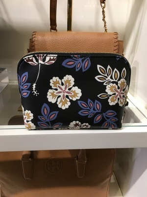 【Tory Burch】セール!花柄 HOPEWELL KERRINGTON COSMETIC CASE