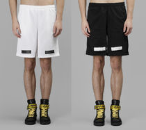 【関税負担】 OFF WHITE MESH SHORTS