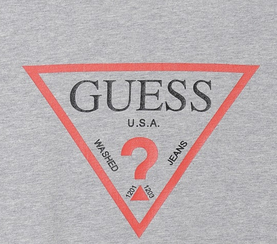 GUESS ロゴTEE