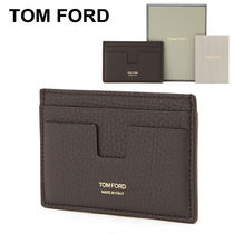 ★TOM FORD★ギフト ロゴ メンズカードケース_Y0232F C95 DCC