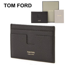 ★TOM FORD★ギフト ロゴ メンズカードケース_Y0232F C95 BLK