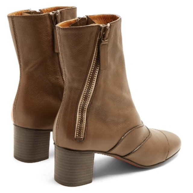 【Chloe】Lexie suede ankle boots スエード アンクルブーツ