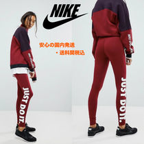 NIKE☆Leggings With Just Do It Logo In Team Red♪