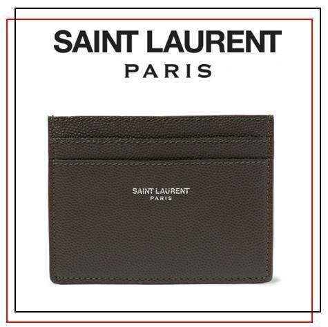 セレブ愛用ブランド◆Saint Laurent サンローラン◆カードケース