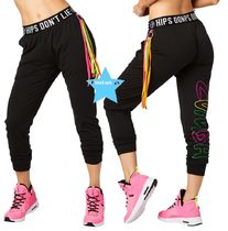 H29.10【ZUMBA】Zumba Party Tassel Harem Dance Pants Z1B00618
