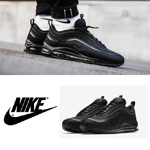 【送関込】Nike Air Max 97 Ultra 17 Triple Black 24〜30㎝有