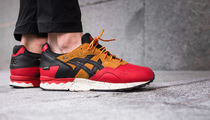"asics(アシックス) スニーカー [asics]GEL-LYTE V GORE-TEX PACK ""RED/BLACK"""
