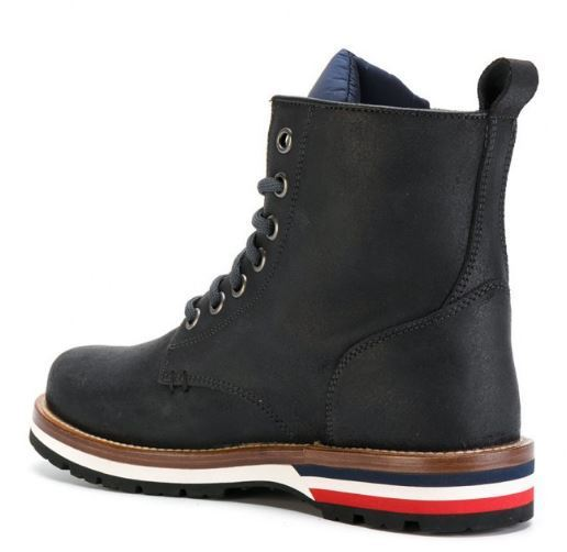 MONCLER 17/18FW LEATHER ANKLE BOOTS