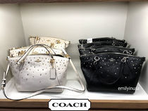 COACH★11月新作★SMALL KELSEY 2way F22312*上品なスタッズ