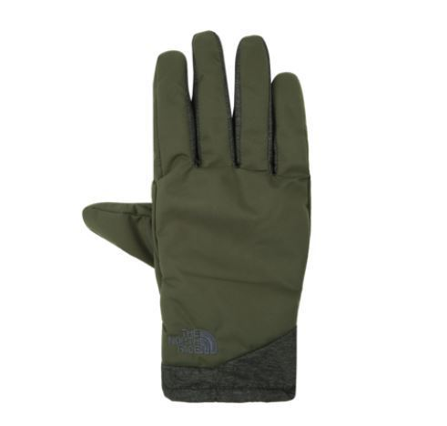 (ザノースフェイス) DRYVENT FULL GLOVES DARK KHAKI NJ3GI50I