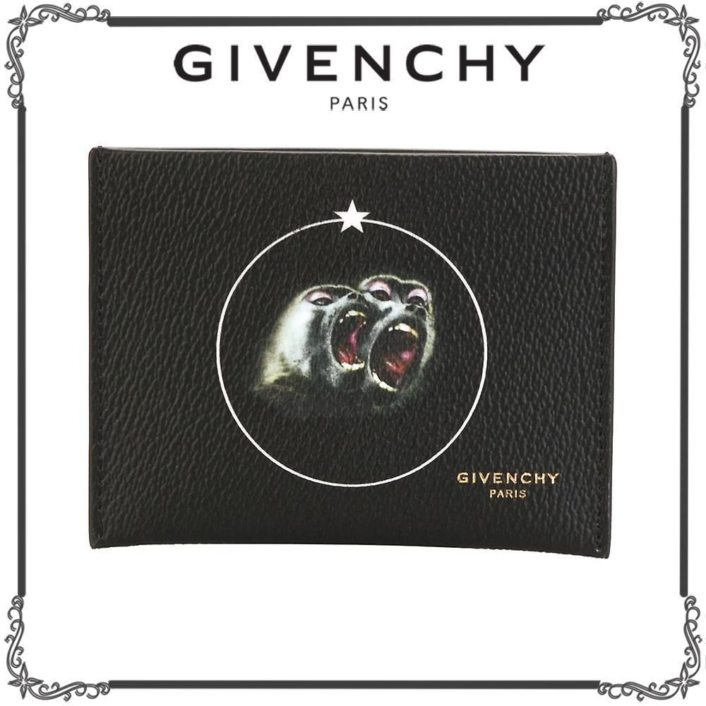GIVENCHY★Monkey Brothers カードケース★ブラック