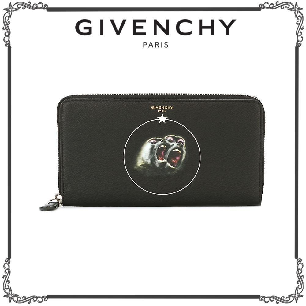GIVENCHY★Monkey Brothers 長財布★ブラック