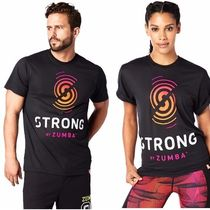 ★国内在庫★ ズンバ Strong By Zumba Graphic Tee Bold Black