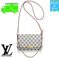 Louis Vuitton*ダミエ アズール*FAVORITE PM*フェイボリット PM*