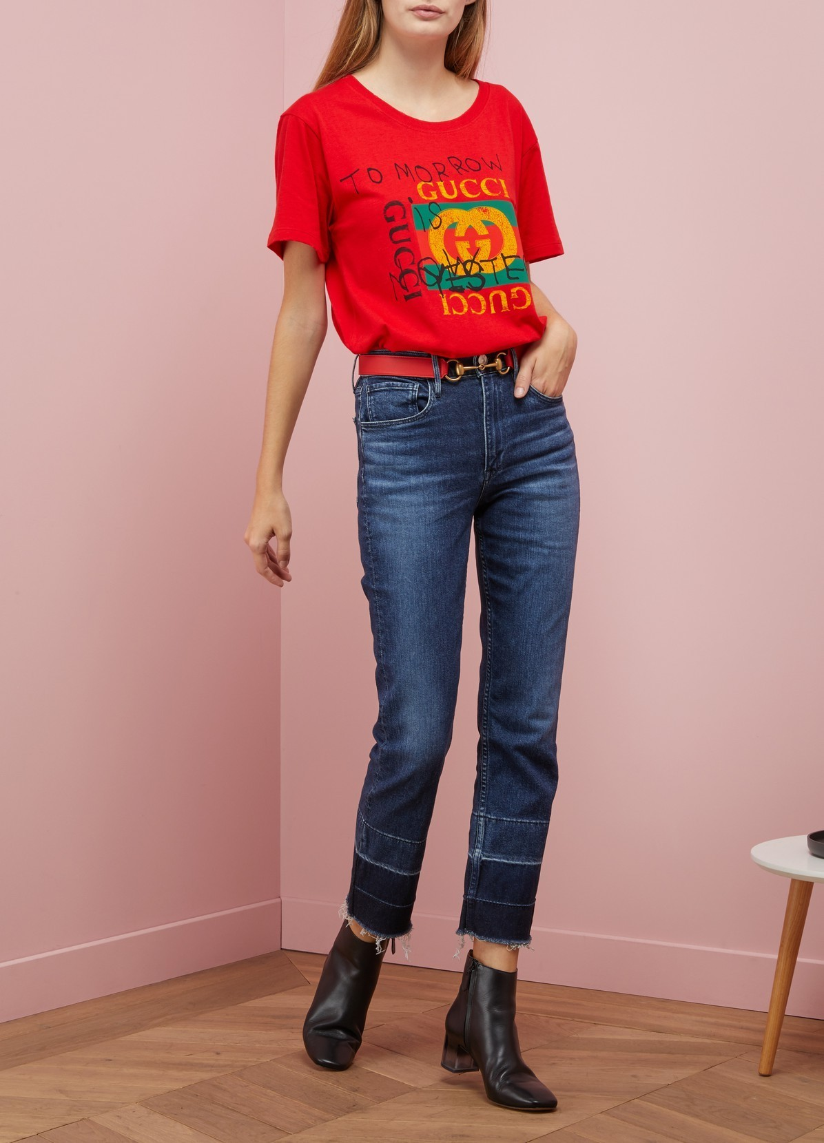 GUCCI グッチ  ロゴ プリント Tシャツ