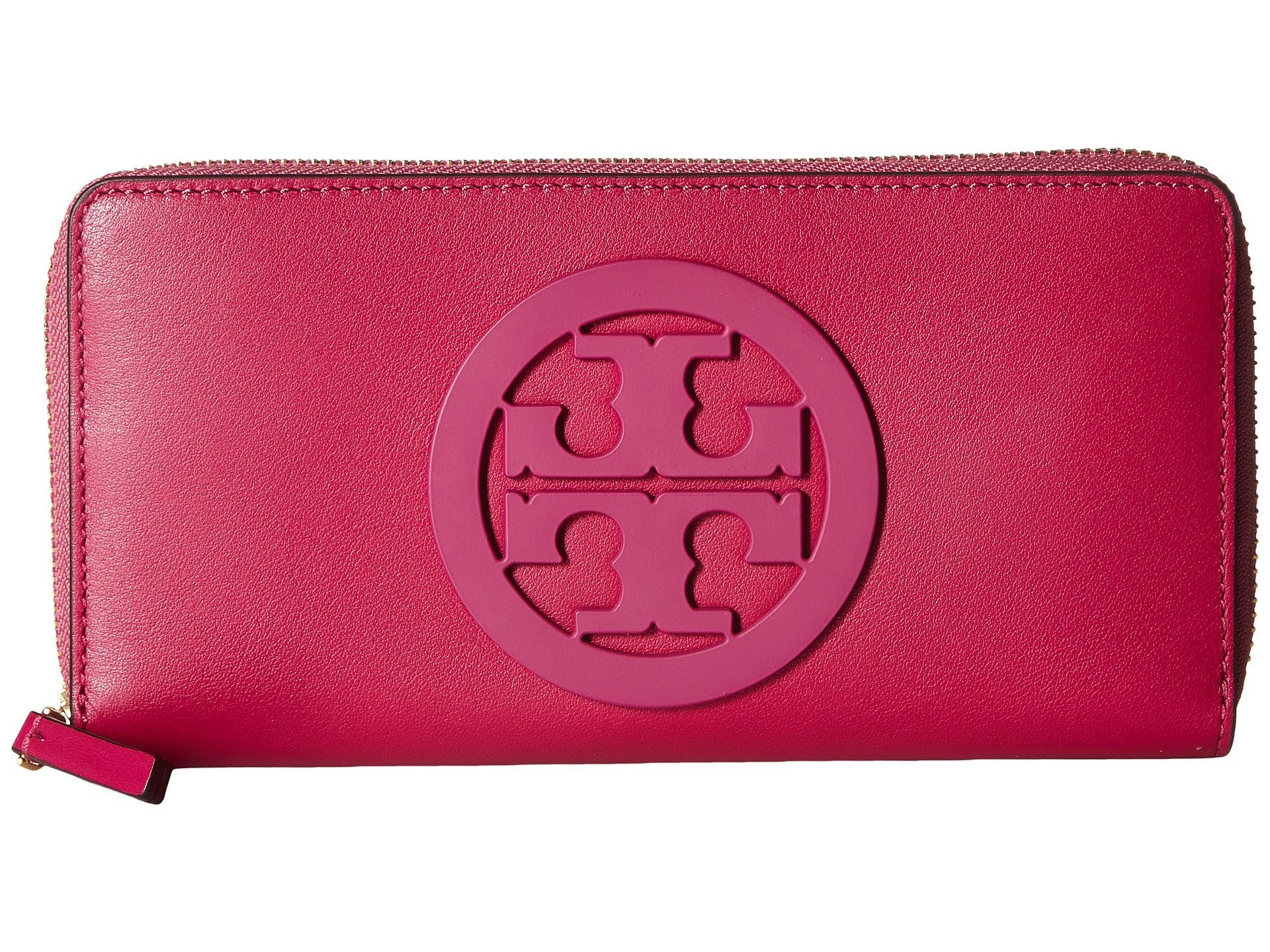 国内発送◆Tory Burch Charlie Zip Continental ジップ長財布