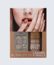 Nails Inc☆限定(Bling It On Tan Leather & Skulls)